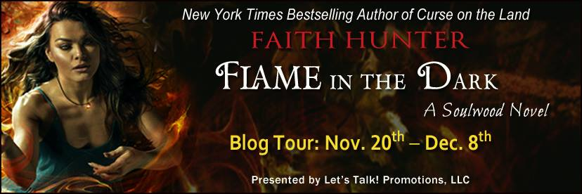 Early Review & Author Interview: Flame in the Dark by Faith Hunter (Blog Tour & Giveaway)
